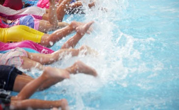 lekcje pływania